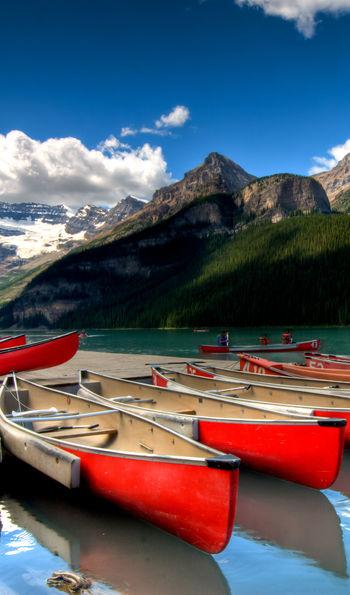 Canoes, Lake Louise