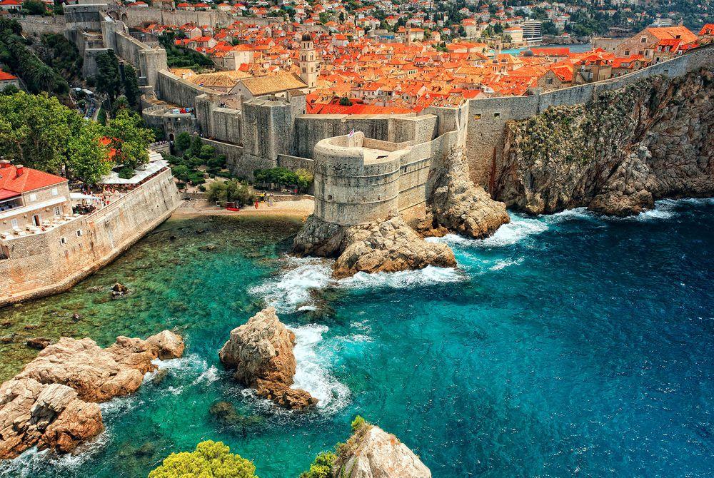 castle, Dubrovnik, Croatia
