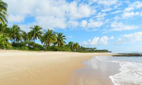 large peninsula marau, Brazil