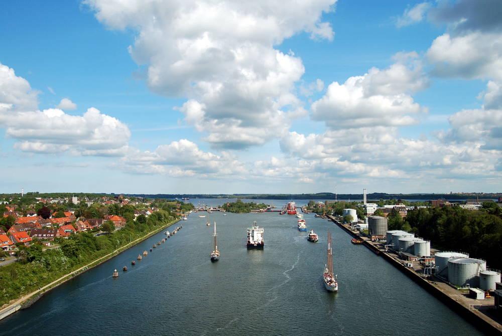 Kiel Canal, Germany