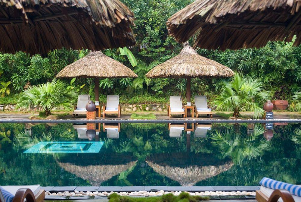 main pool, Pilgrmiage Village, Hue, Vietnam