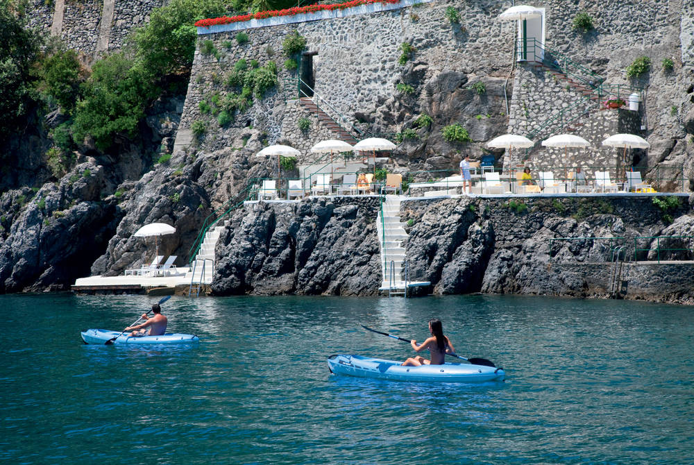 Kayaking by Clubhouse By The Sea, Palazzo Avino