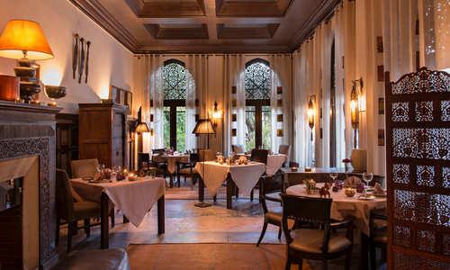 restaurant, La Villa Des Orangers, Marrakech, Morocco