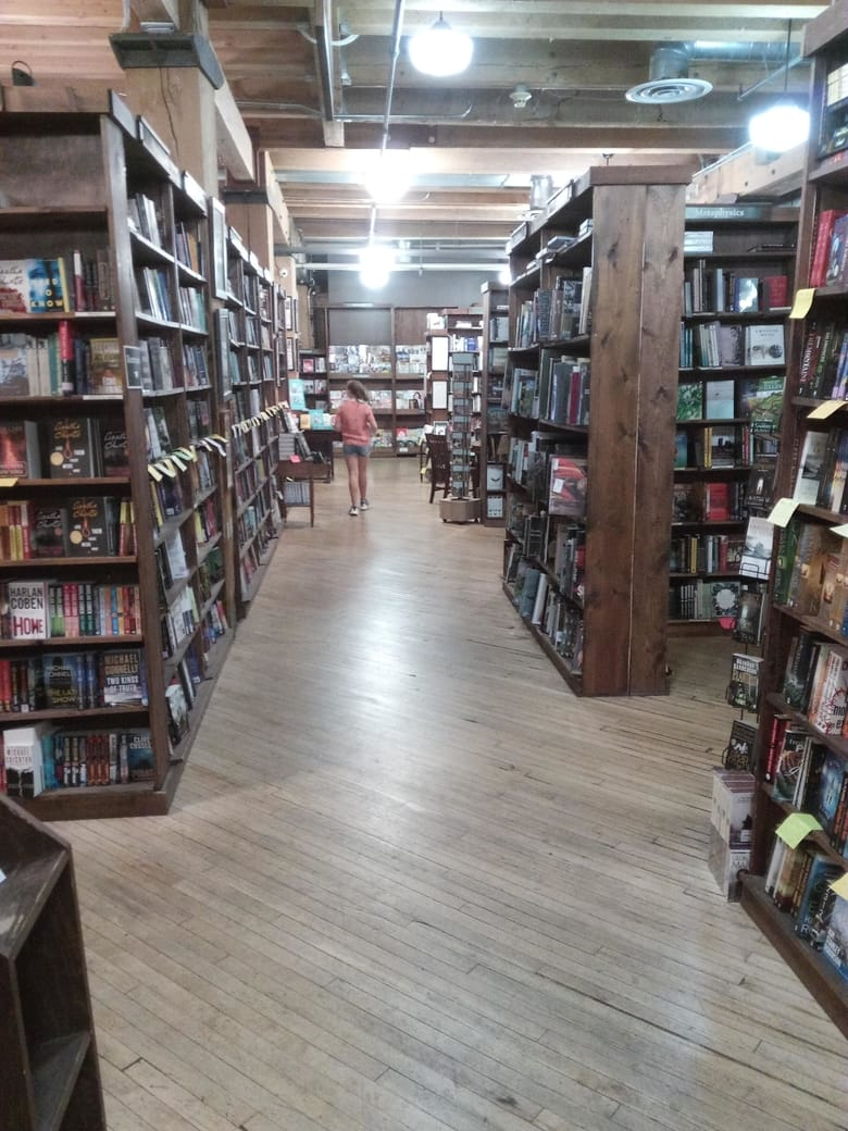 Tattered Cover bookstore in Denver Colorado