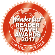 Wanderlust Travel Awards 2017