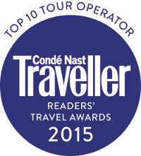 Conde Nast Traveler - Top 10 Tour Operator 2015