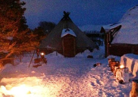 Lavvo tent