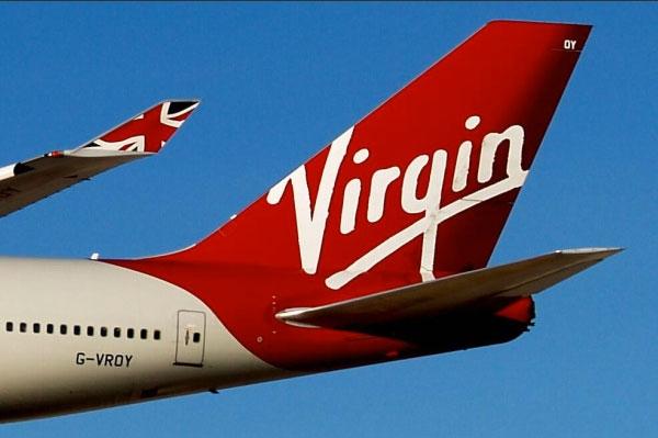 Virgin airlines arrivals