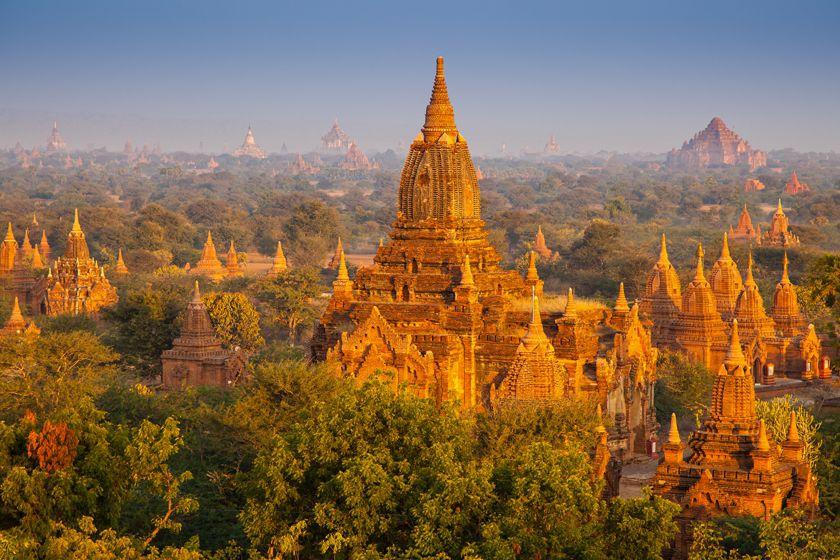 Temples at Pagan, Burma