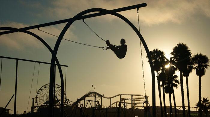 Muscle Beach, Santa Monica, California