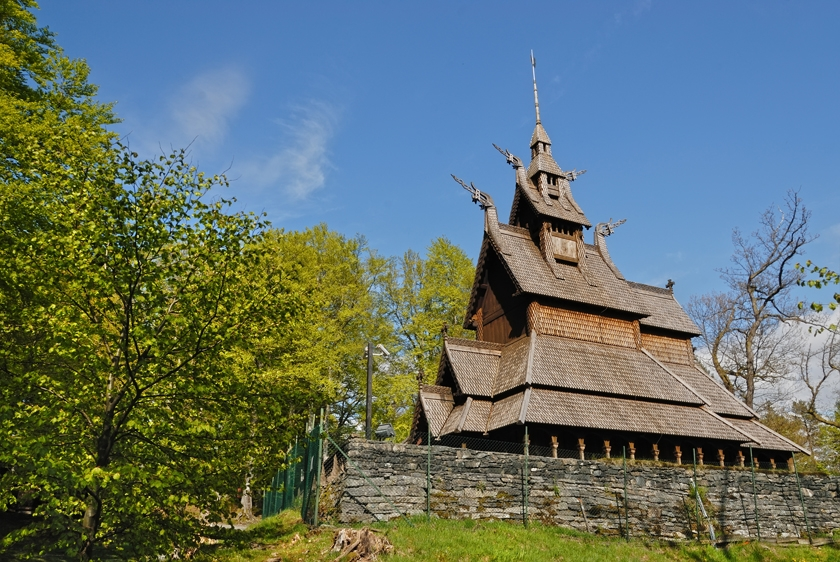 Fantoft Stave Church Bergen