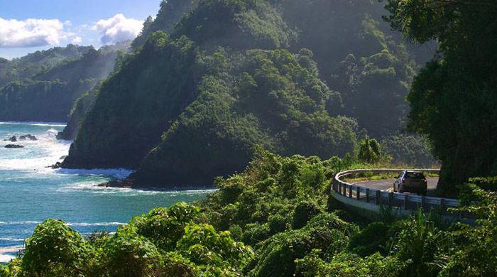 Hana Highway, Hawaii, USA