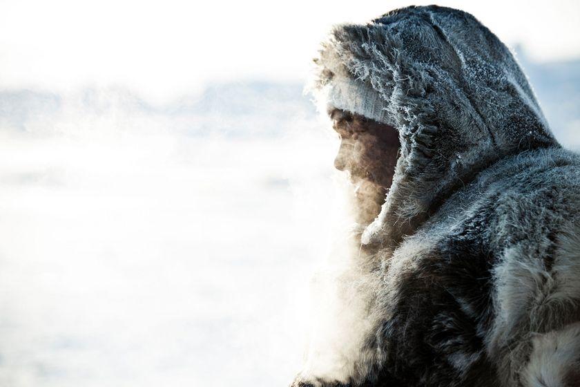 Inuit in Ilulissat, Greenland