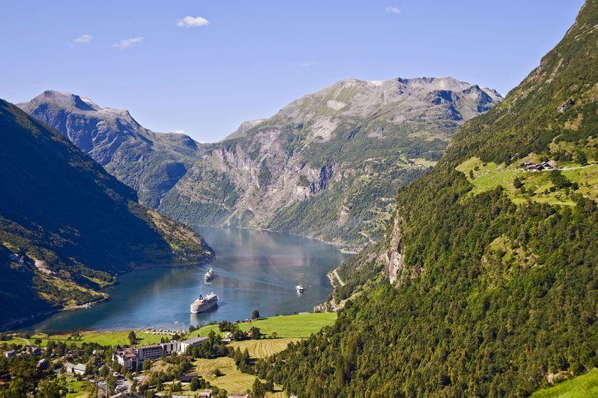 Geirangerfjord, fjord Norway