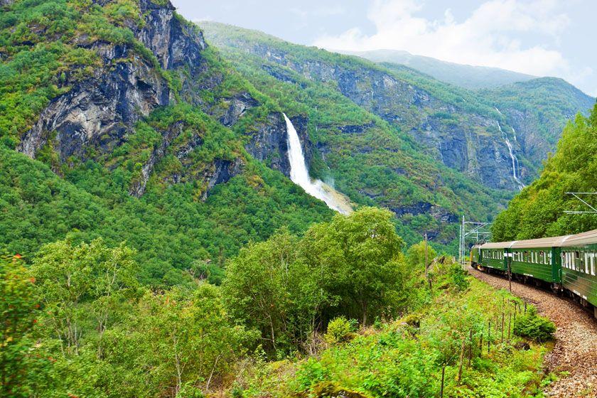 Flam Railway, fjord Norway