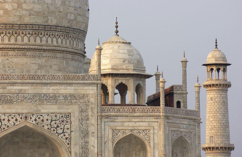 Taj Mahal, india, detail