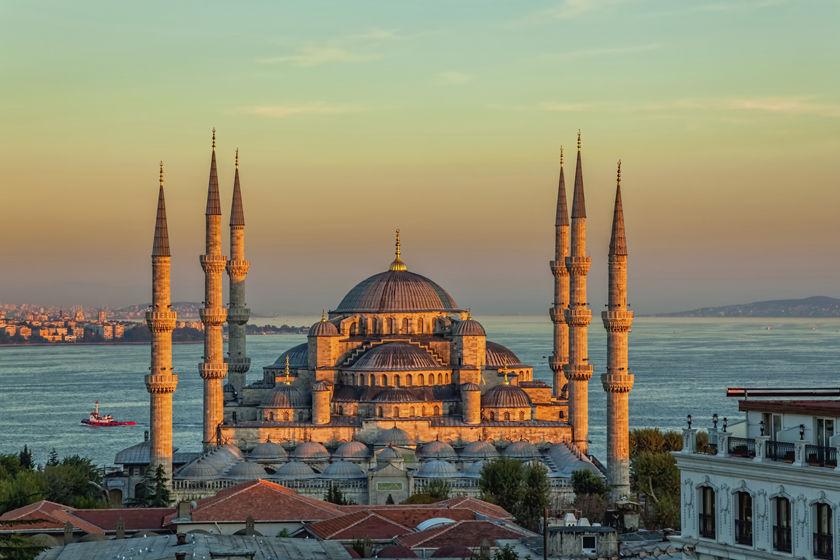 Blue Palace, Istanbul, Turkey