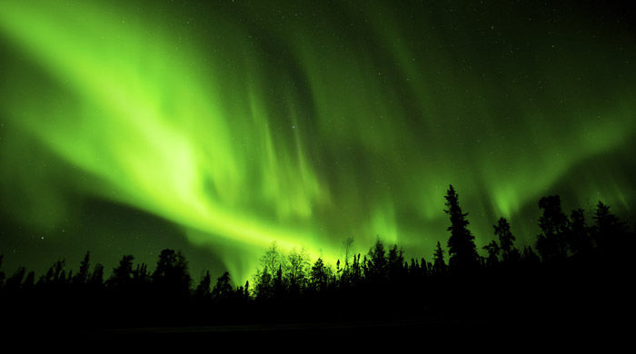 Northern Lights, Fort McMurray, Canada