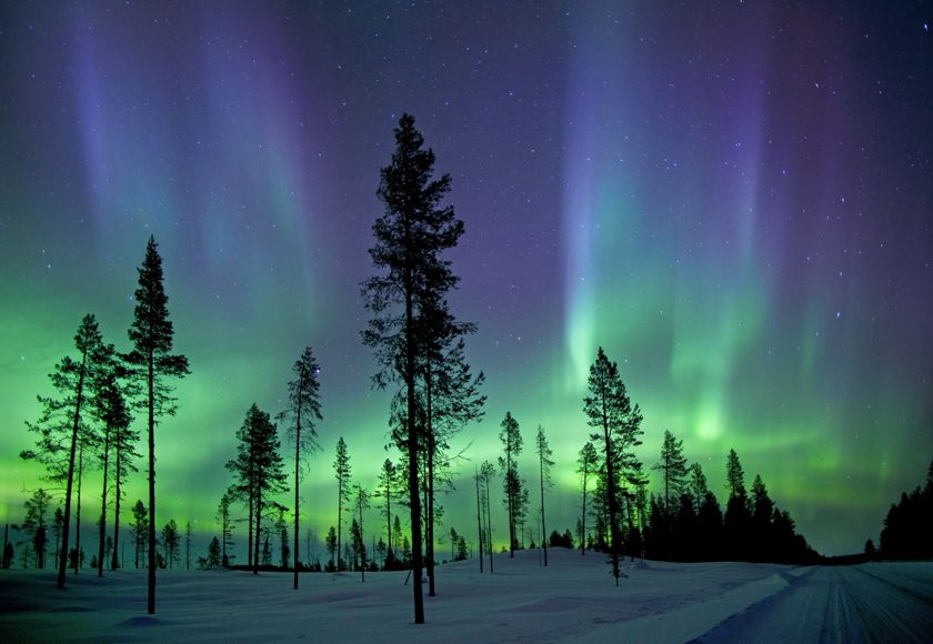 Aurora Borealis, Kiruna, Sweden