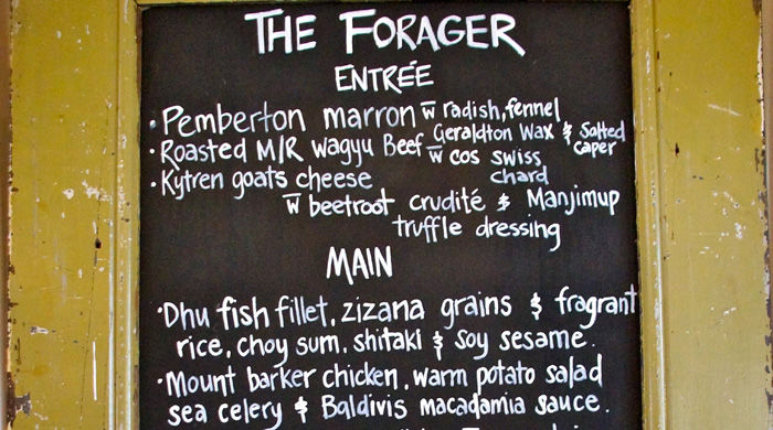 The Forager Lunch