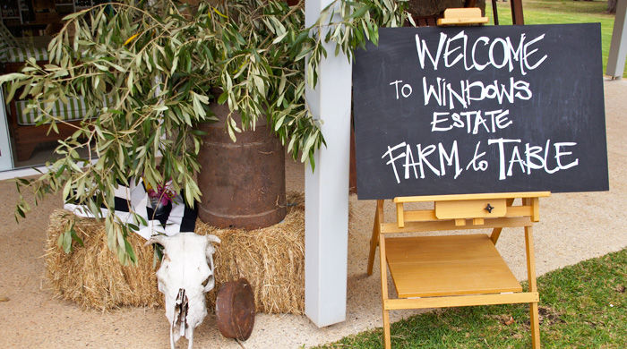 Farm to Table Lunch at Windows Estate