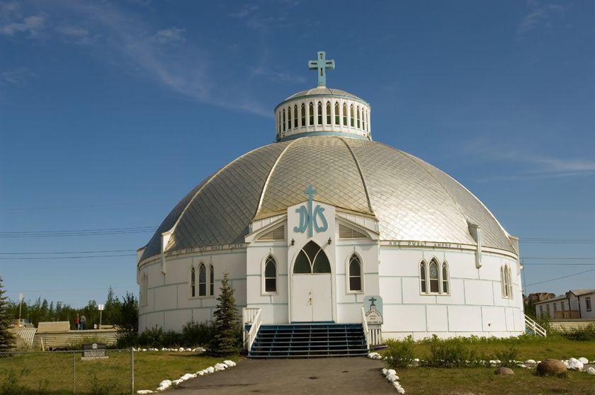 Igloo church, Nunavik, Canada