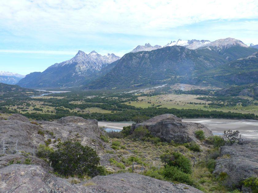 The view from the Carretera, just south of Villa Cerro Castillo, Chile