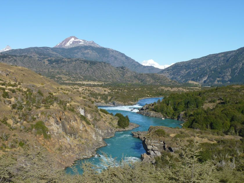 The Río Baker, Chile