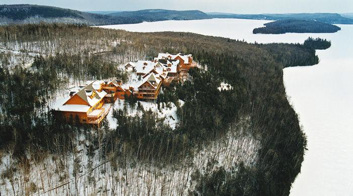 Hotel Sacacomie, Québec, Canada
