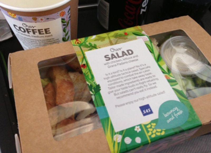 SAS cafe style food