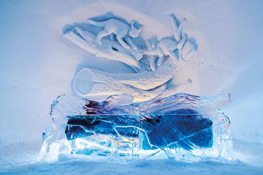 Ice hotel Kirkenes