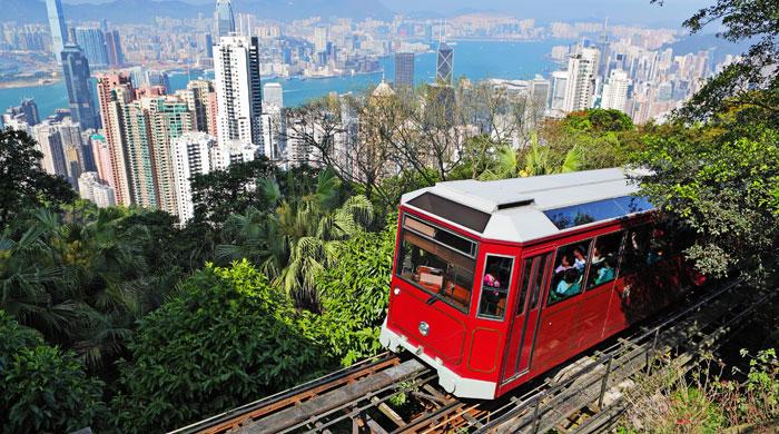 Peak tram, Hong Kong