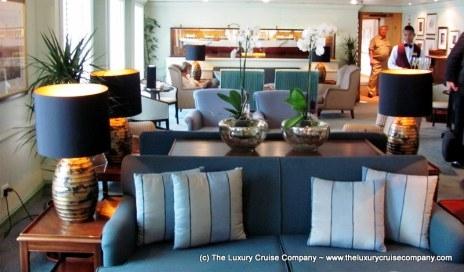 Shackleton Lounge - Swan Hellenic Minvera