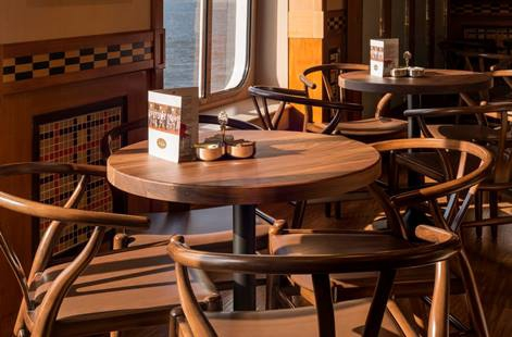 New Bistro Furniture on Crystal Symphony