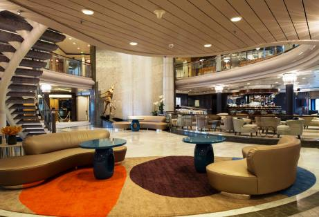 Crystal Symphony new Plaza and Cove