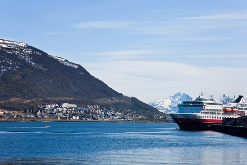 A Hurtigruten Ship