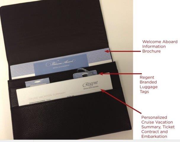 Regent's new documentation wallet