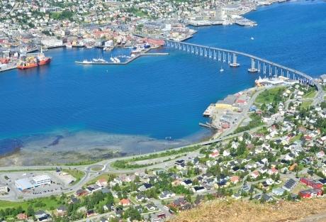 Tromso in summer
