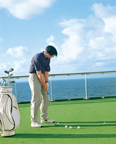 Crystal Cruises Golf Cruise