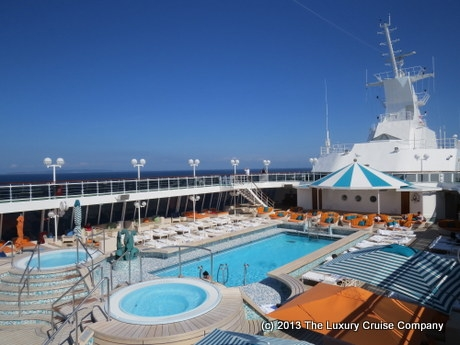 Crystal Serenity Pool Deck