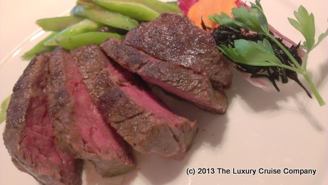 Wagyu Beef - Nobu on Crystal Serenity