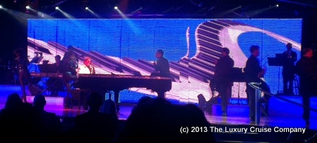 Elton John Tribute Show on Crystal Cruises