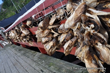 Fish drying in Nusfjord
