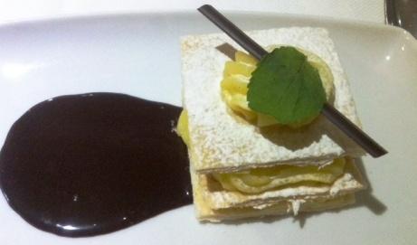 Dessert on SS Antoinette