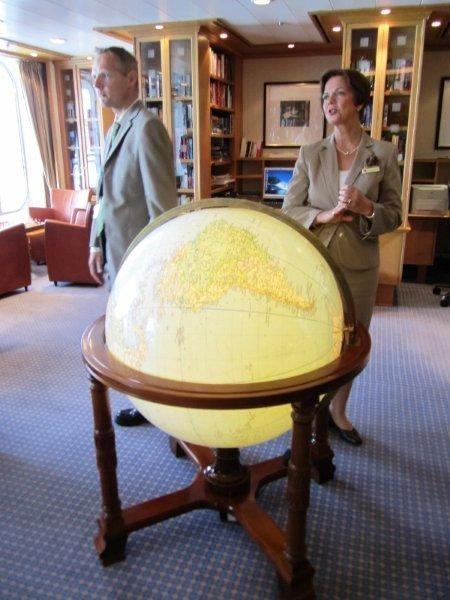 Globe on Europa