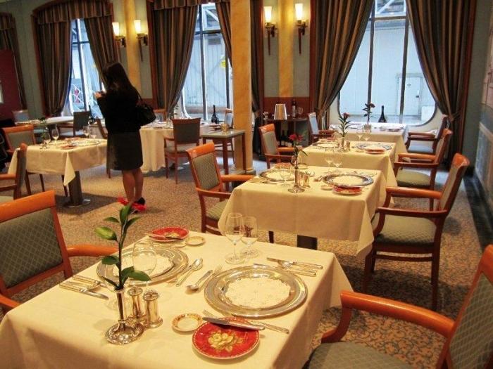 The Venetian Restaurant onboard Europa