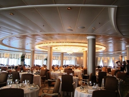 Oceania Marina Grand Dining Room