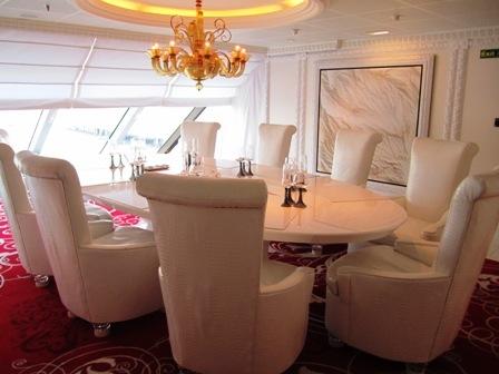 Privee onboard Oceania Marina