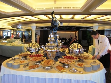 Afternoon Tea onboard Oceania Marina
