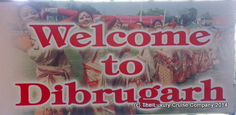 Dibrugarh - Brahmaputra River Cruise, India, on MV Mahabaahu